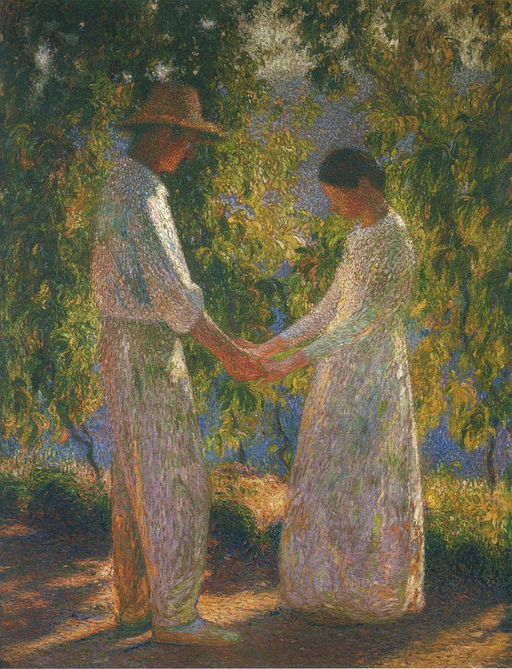 The Lovers - Henri Martin - WikiArt.
