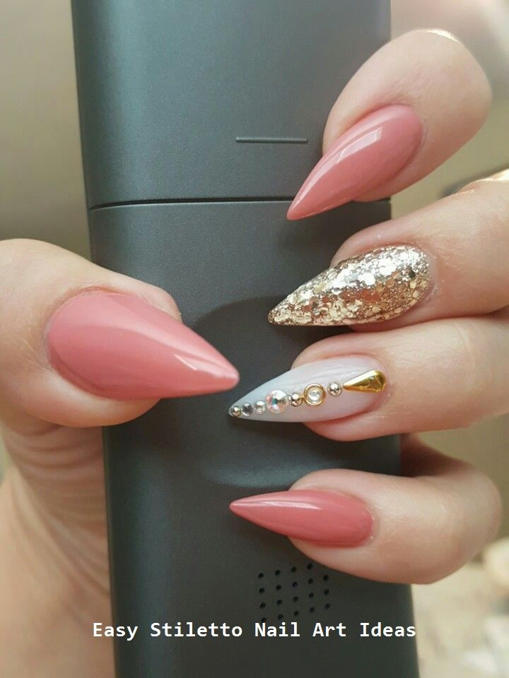 30 große Stiletto Nail Art Design-Ideen #nail – Stiletto Nails