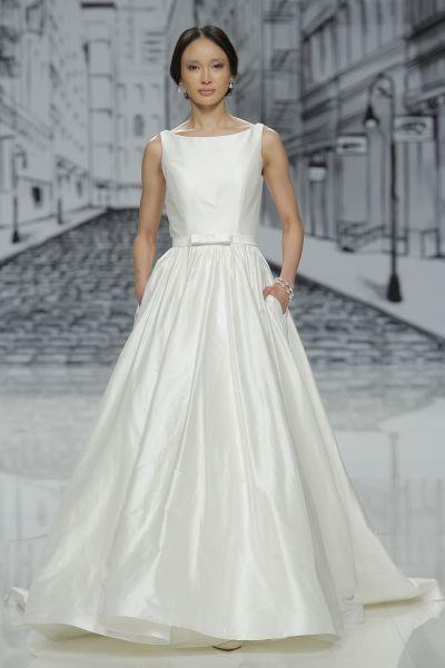 Vestidos de novia con cintas y lazos 2017: 30 diseños llenos de romanticismo Image: 20