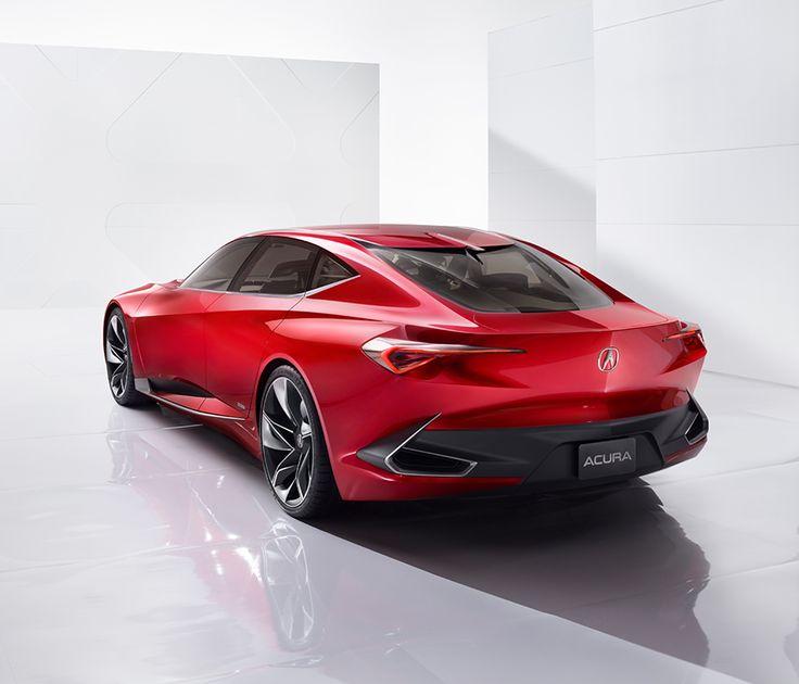 Acura Future Vehicles Precision Concept Alluring Modern