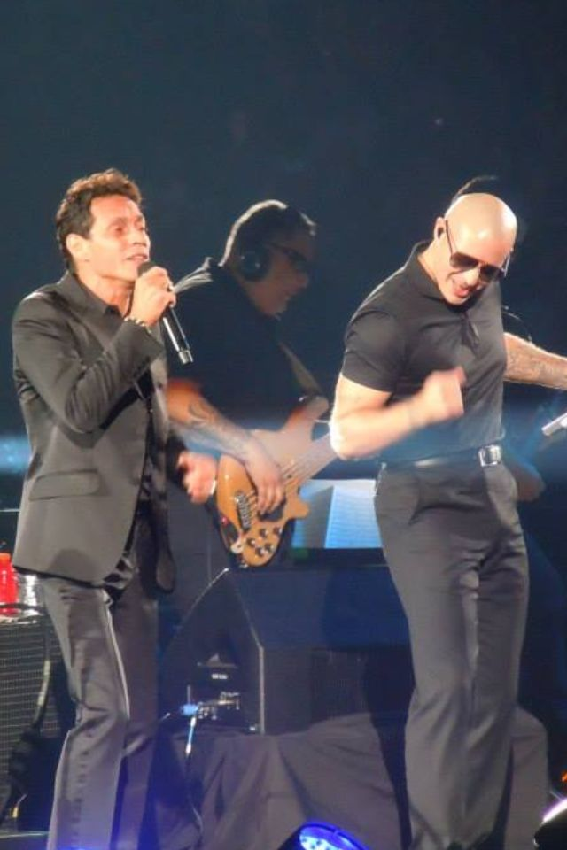 Marc Anthony Mr 305 Pitbull Marc Anthony Singer Latin Grammy Award