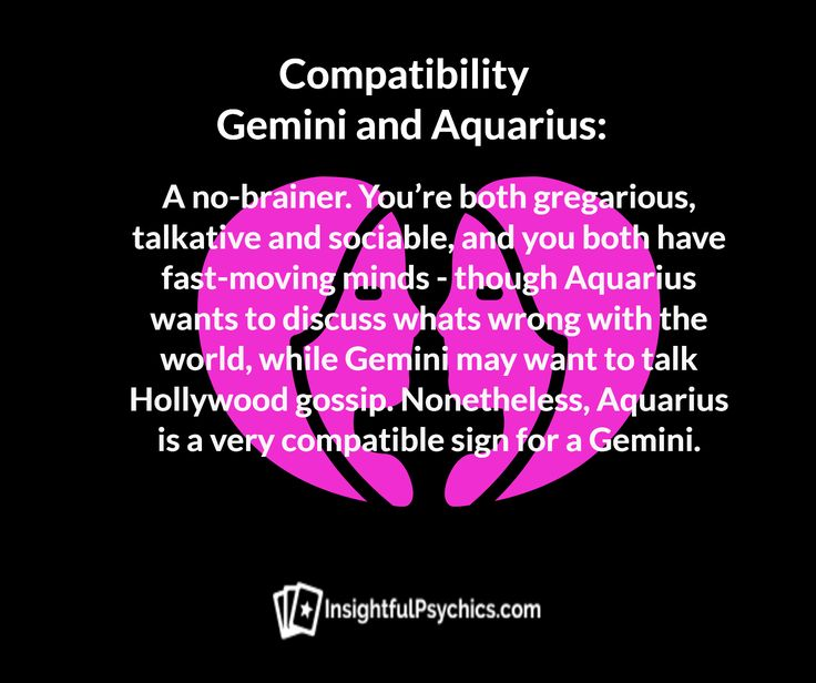 What Astrological Signs Are Compatible With Gemini