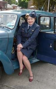 WAAF uniform for hire, Womens uniform, WRAF, 1940's fancy dress hire