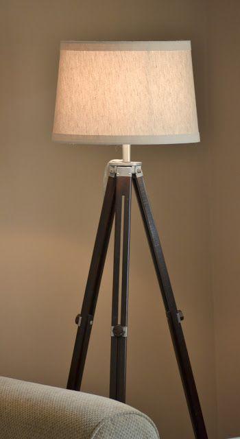 Dwelling Cents: Tripod Lamp DIY