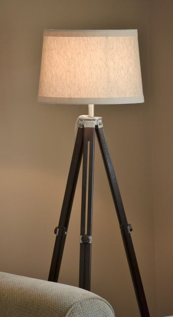 Dwelling Cents: Tripod Lamp DIY