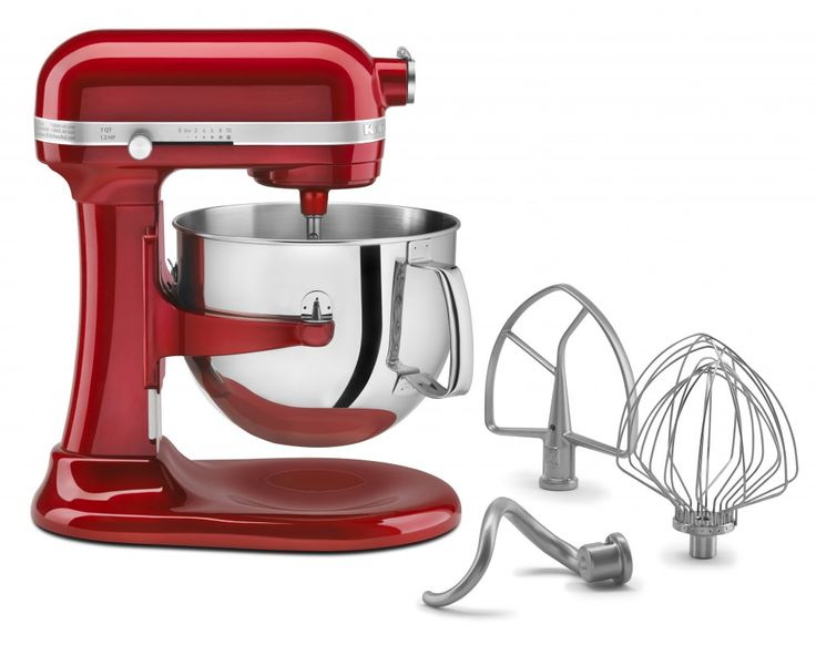 7 quart KitchenAid mixer Just a few of it's amazing Features: 7 Quart Bowl-Lift Stand Mixer Model KSM7581 (retail value $549.00) Control Panel to Motor Communication ASF – Advanced Sensory Feedback (15,000x per second) Motor: 1.3 HP High Efficiency DC Motor Flour Power Capacity: 16 Cups Cookie Capacity: 14 Dozen Warranty: 2 Year Hassle Free Warranty Attachments are dishwasher safe #bellalimento.com