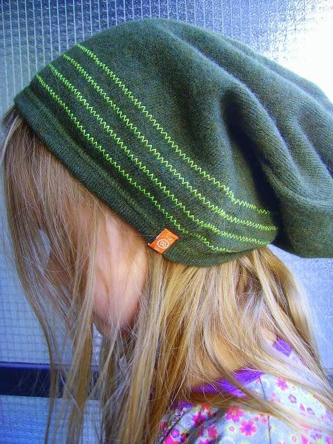 hippe muts van oude trui