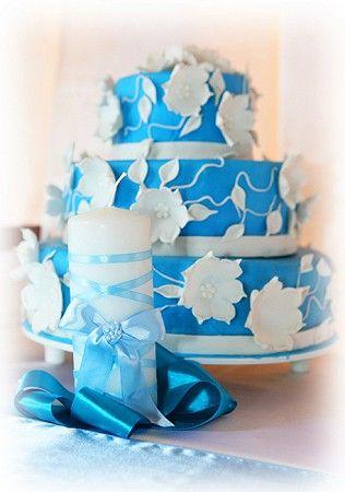 Красивые свадебные торты на фото