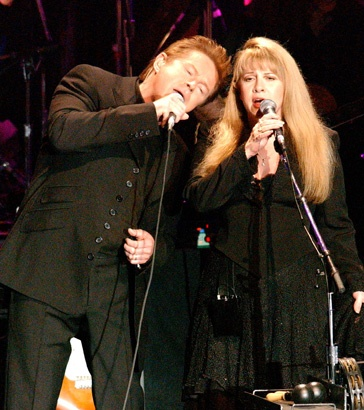 """Two of my favorites...Don Henley and Stevie Nicks Perform """"Leather and Lace,"""" 2002"""