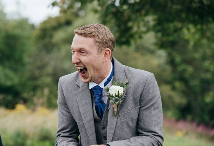 Kilted groom