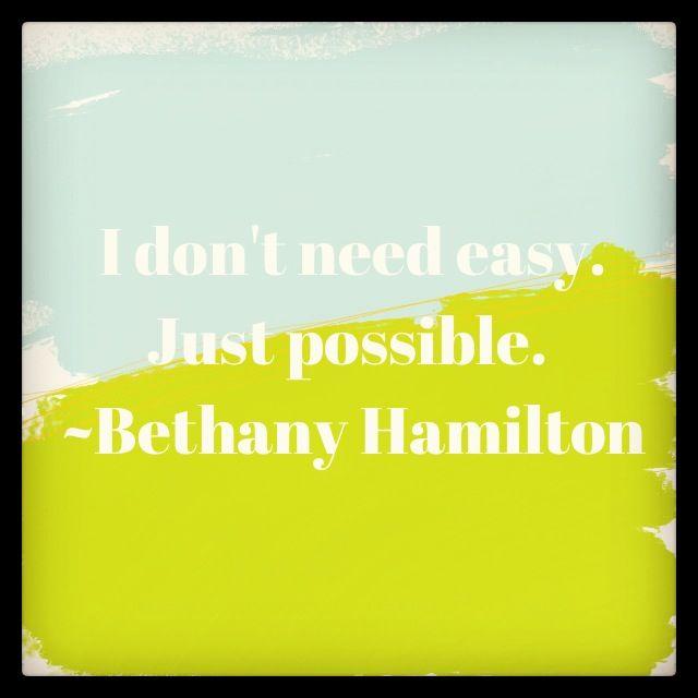 Bethany Hamilton Quotes: From Bethany Hamilton Quotes. QuotesGram