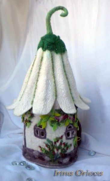 Felt Fairy House by Irina Orlova ♥