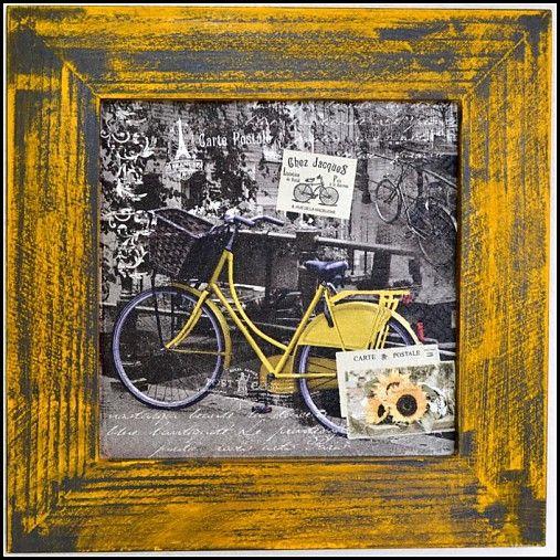 bibidekoracie / Retro bicykel