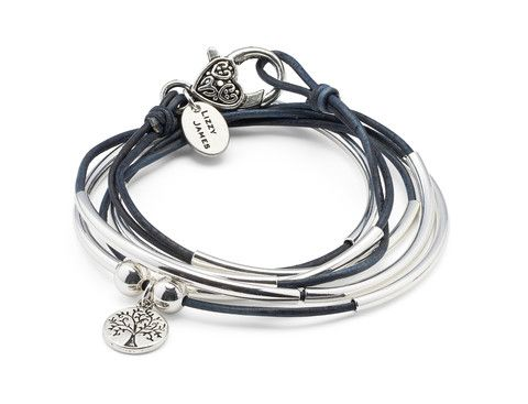 How to Wear Lizzy James Leather Wrap Bracelets