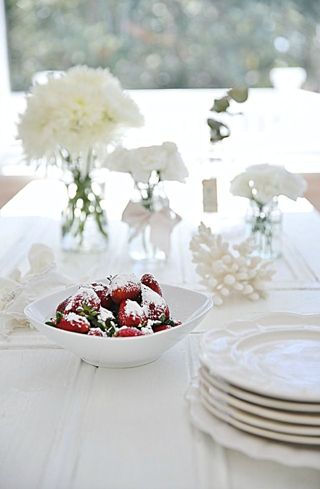 Beach Cottage Decorating with White |