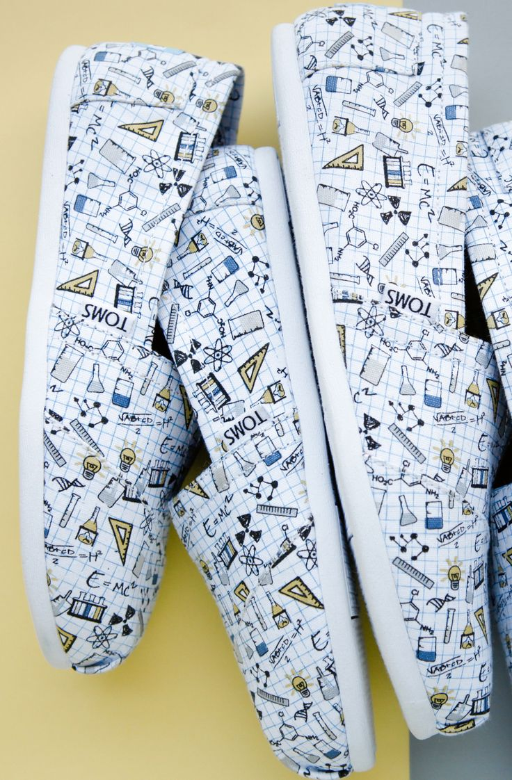 Science is cooler than ever in these chemistry printed TOMS Classics.