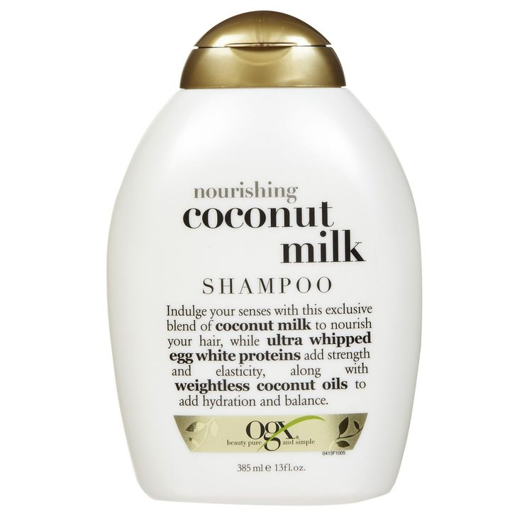 9 Sulfate-Free Shampoos to Keep Your Hair Healthy This Winter - Ogx Nourishing Coconut Milk Shampoo  - from InStyle.com