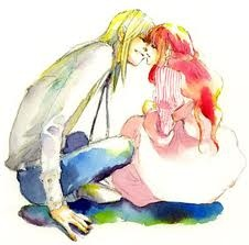 Howl and Sophie <3 OMGOSH I adore this!