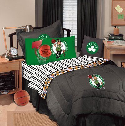 "BOSTON CELTICS Solid Black Denim Drapes 82 x 63"" . $39.99"