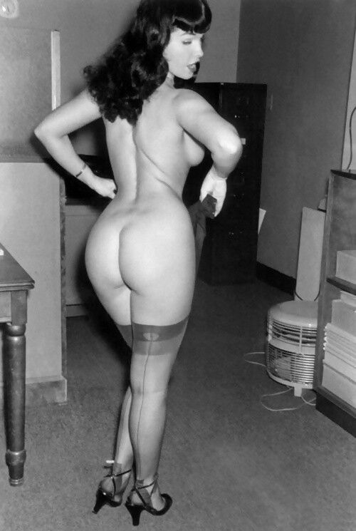 Page from behind bettie