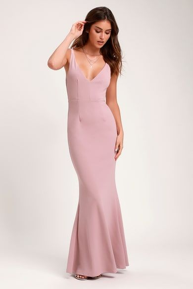 68e23299890 Magenta Gown - Maxi Dress - Sleeveless Maxi Dress -  84.00
