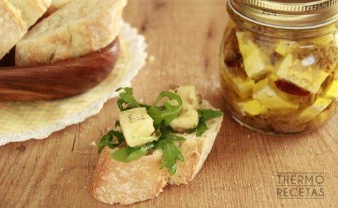 formaggio marinato piccante bimby
