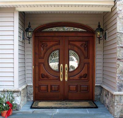Nice elegant door.