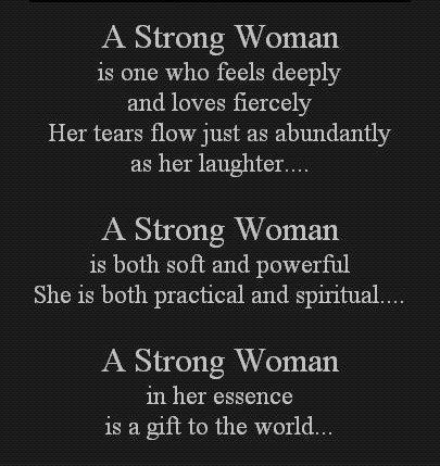 A strong woman