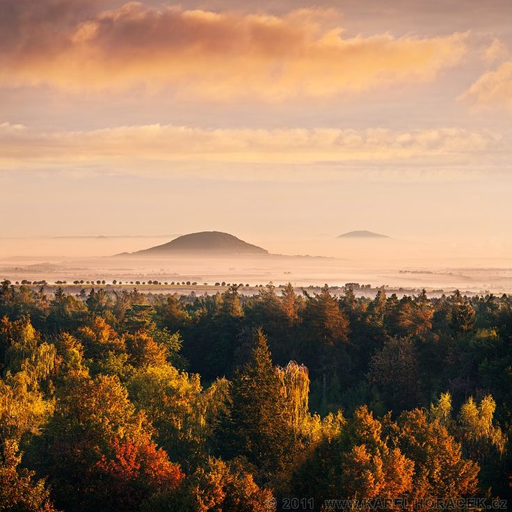 Hora Říp, Říp Hill, Czech Republic