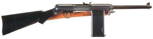 US S&W Model 1940 9mm Light Rifle