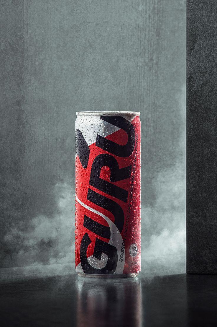 GURU - Energy drink on Behance