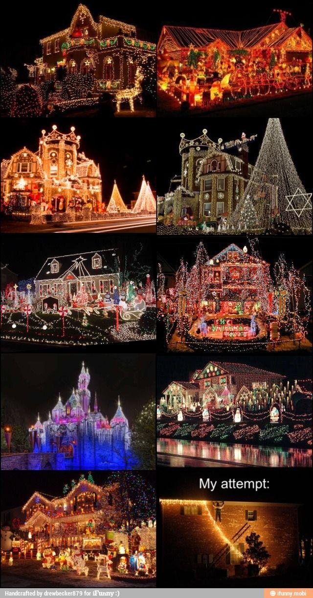 Frozen Christmas Light Show