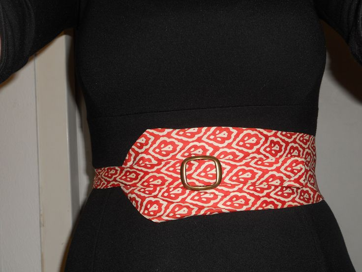 View details for the project Recycling - from tie to waist belt on BurdaStyle.