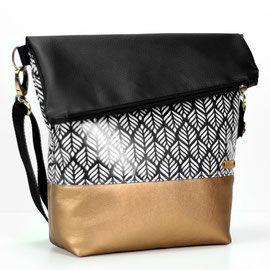 FoldOver Kupfer Blaetter - Hansedelli - Design für Textil und Grafik