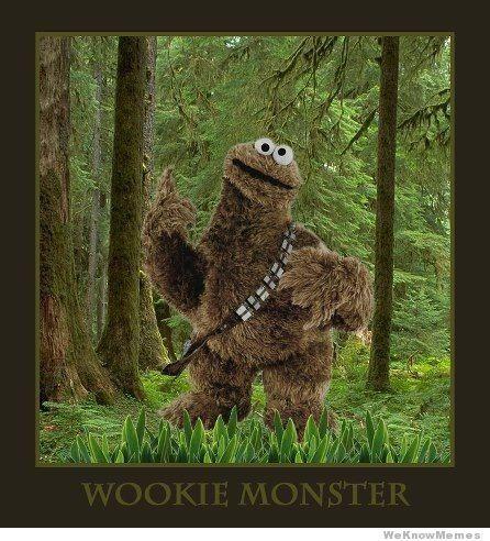 Wookie Monster