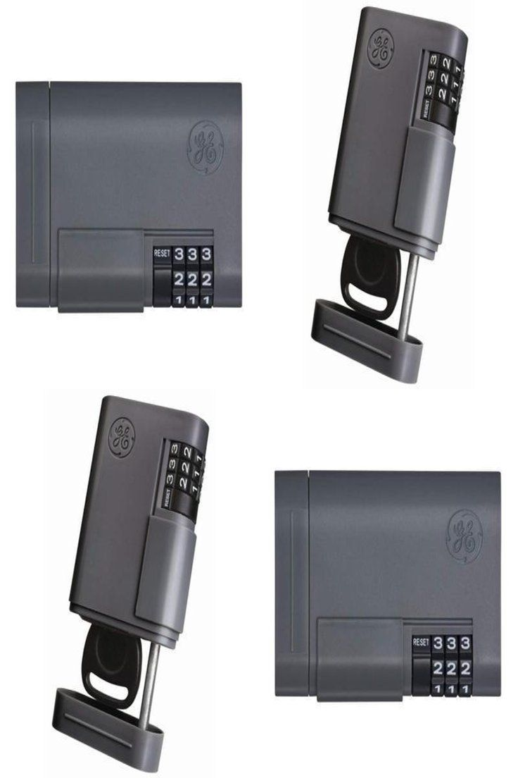 8.61 Durable Locking Key Case Security Spare