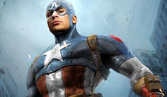 Chris Evans as Captain America- The Avengers