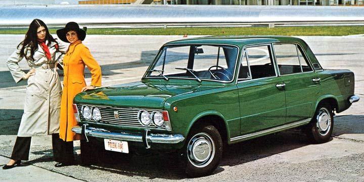 Polski-Fiat 125 P - 1970