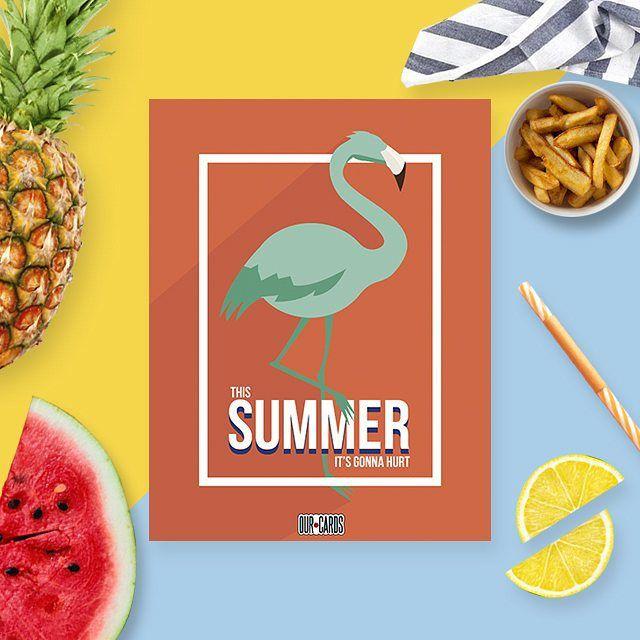 This summer's gonna hurt  #iniciodesemana #summer #verano #ourcards #talentovenezolano #venezuela #margarita #party #monday #lol #designersvenezuela #diseñografico #diseñovenezolano #maroon5