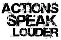 Felicia Scurlock - Actions Speak Louder Than Words!