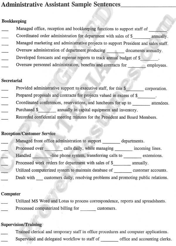 10 best Best Executive Assistant Resume Templates \ Samples images - office administration resume