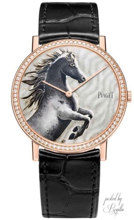 Regilla ⚜ Piaget 2014 the year of the horse