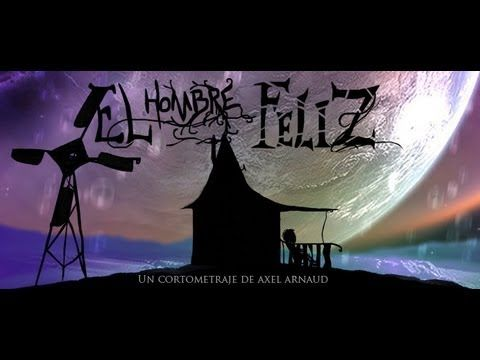 El hombre feliz -cortometraje animado reflexion de Axel Arnaud