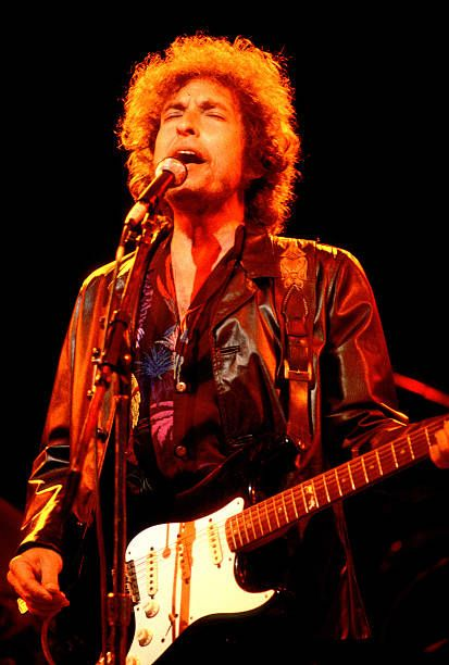 6/10/1981 Bob Dylan at the Poplar Creek Music Theater Chicago