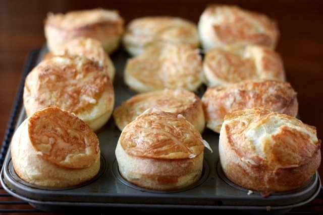 Cheese Popovers | recipes to try | Pinterest
