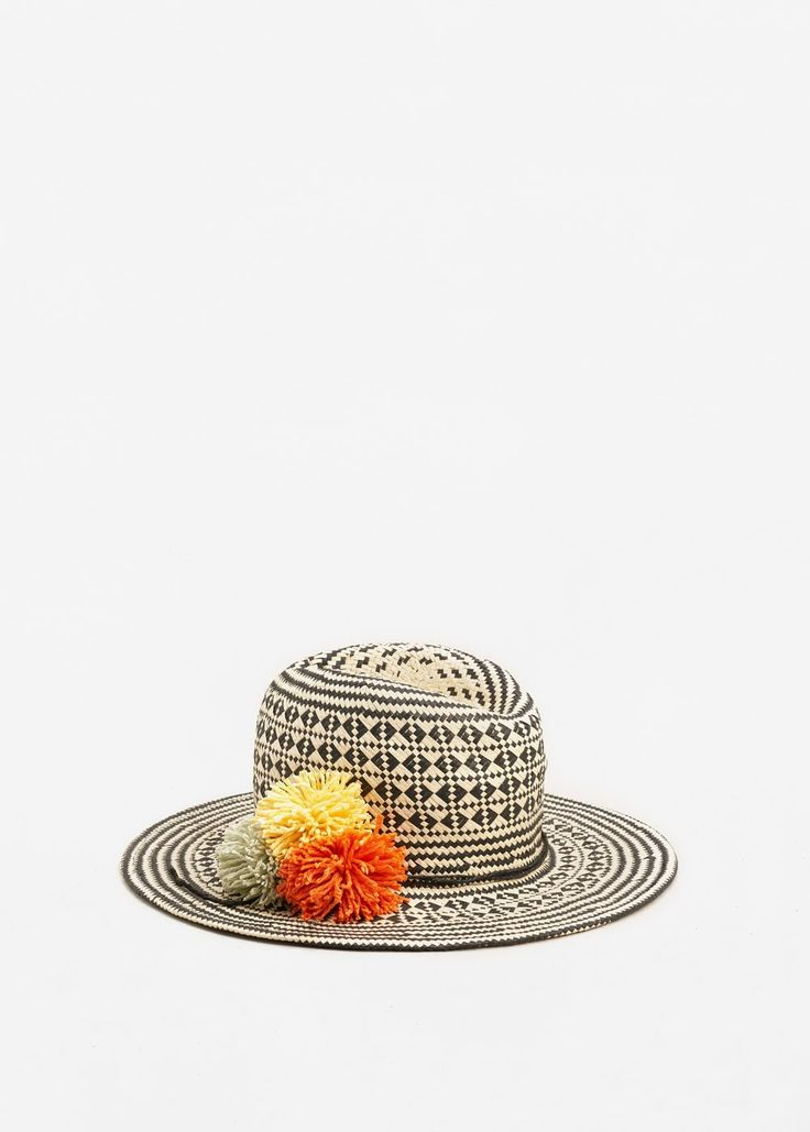 Соломенная шляпа федора | MANGO МАНГО