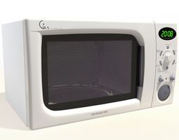 Daewoo microwave stove 3D Model