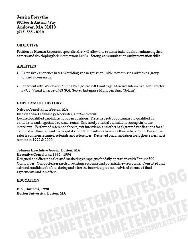 scannable resume keywords     resumecareer info