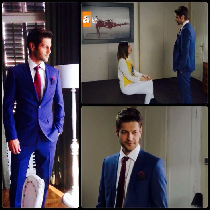 Serhat Teoman, Hatem Saykı mavi takım elbise ile çok şık! --> http://bit.ly/1l0YNWD #bugununsaraylisi #atv #serhatteoman #simdibunlarmoda #hatemsayki #hatemoglu