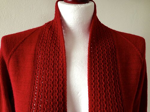 Juneberry Cardigan pattern by emteedee